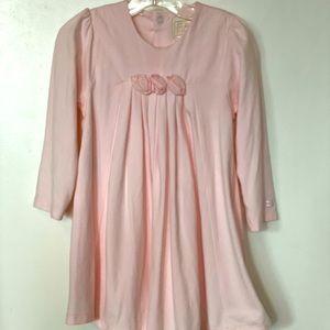 Emile et Rose Pink Dress with Rose Detail Size 23m